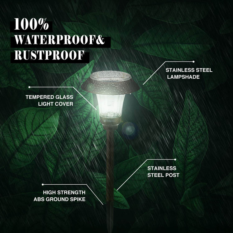 Greenstell solar landscape light features