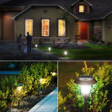 Load image into Gallery viewer, Greenstell solar landscape light brightens the night