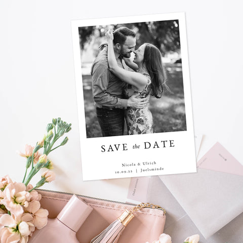 Dreamy - Bryllup - Save the Date