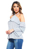 Image of Women's Stripe Layer Halter Top
