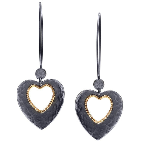 sterling silver heart earrings jewelry