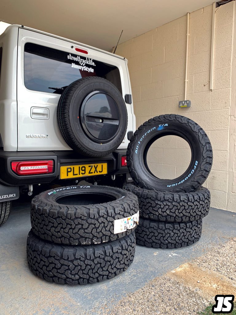 JIMNYSTYLE Blog BF Goodrich Tyres