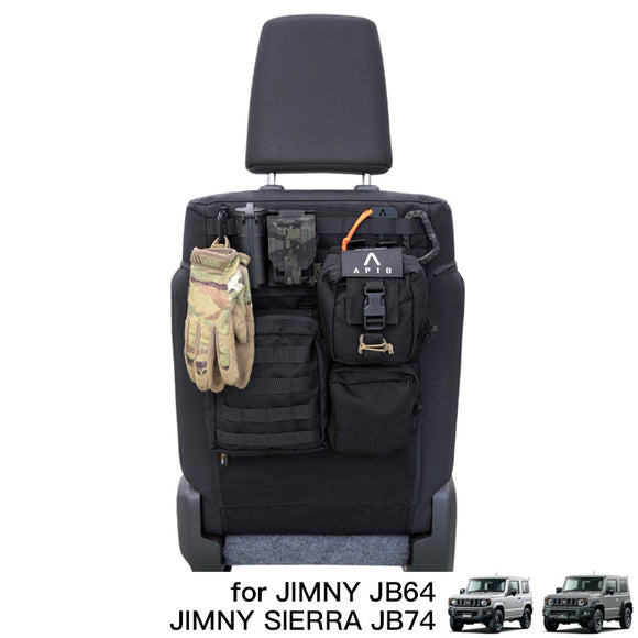APIO Tactical Seat Back Cover for Suzuki Jimny (2018+)