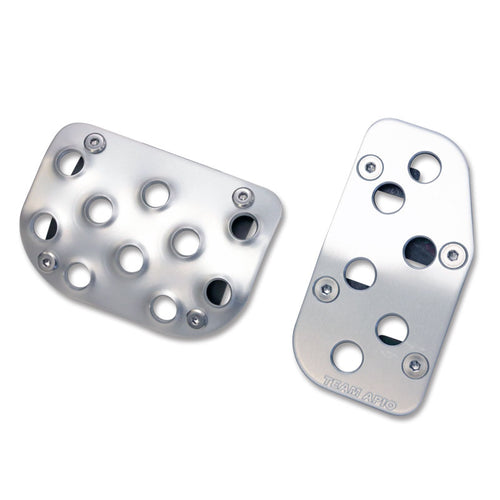 APIO Aluminium Pedal Set for Suzuki Jimny (2018+) - Automatic Transmission