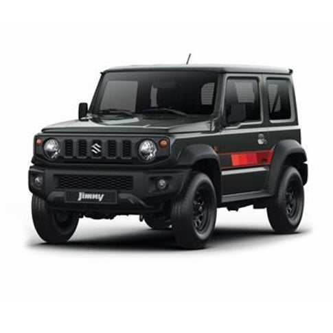 Suzuki Jimny (2018+) Side Decal Set