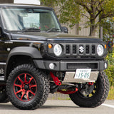 High-Bridge First Front & Rear Bumper Set for Suzuki Jimny JB74 (2018+)