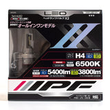 IPF LED H4 Head Lamp Bulbs
