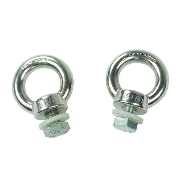 Front Runner Stainless Steel Tie Down Rings for Slimline II Roof Rack
