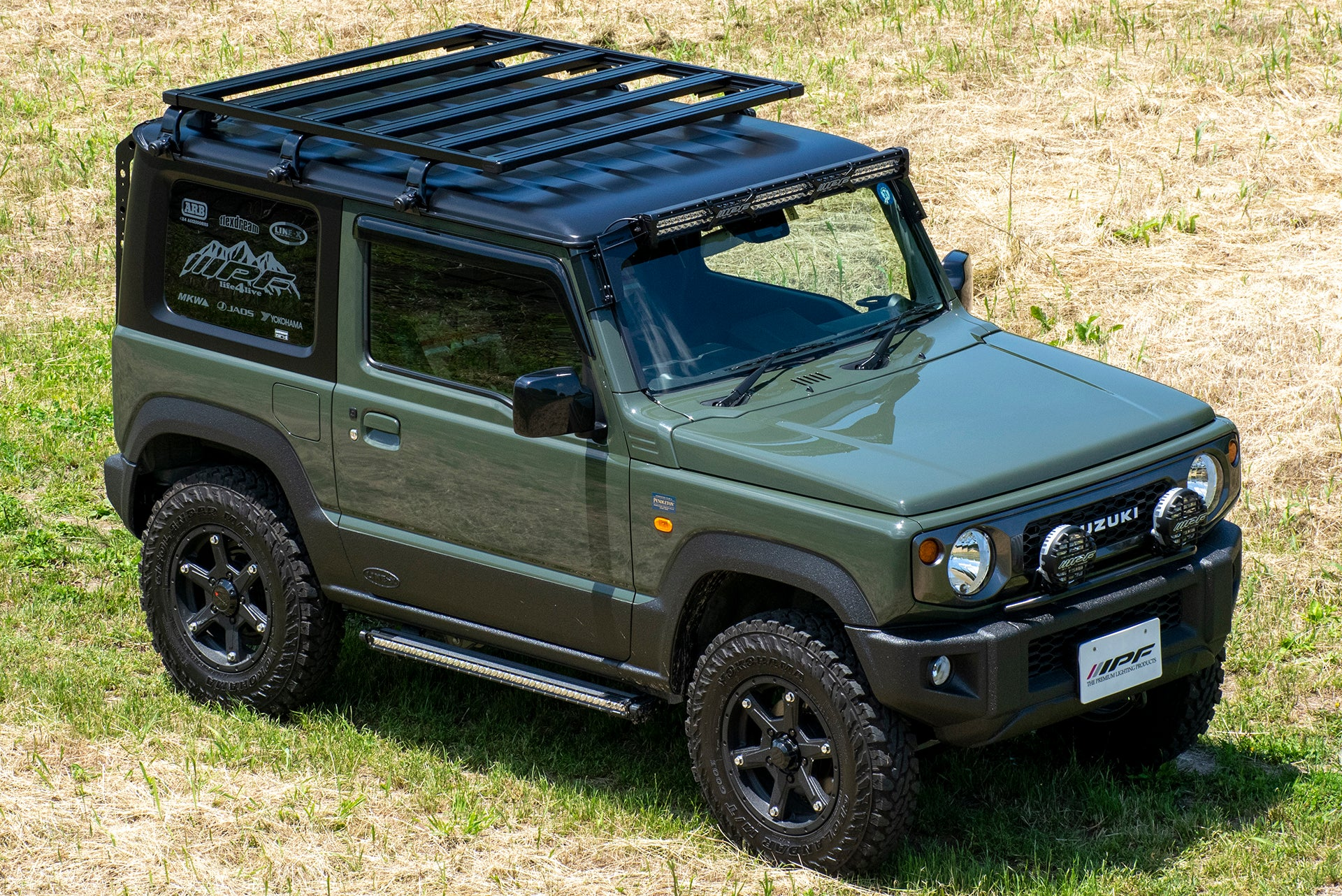 IPF EXP Roof Rack Type A for Suzuki Jimny (2018+)