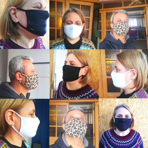 FANCIES Team Making Face Masks