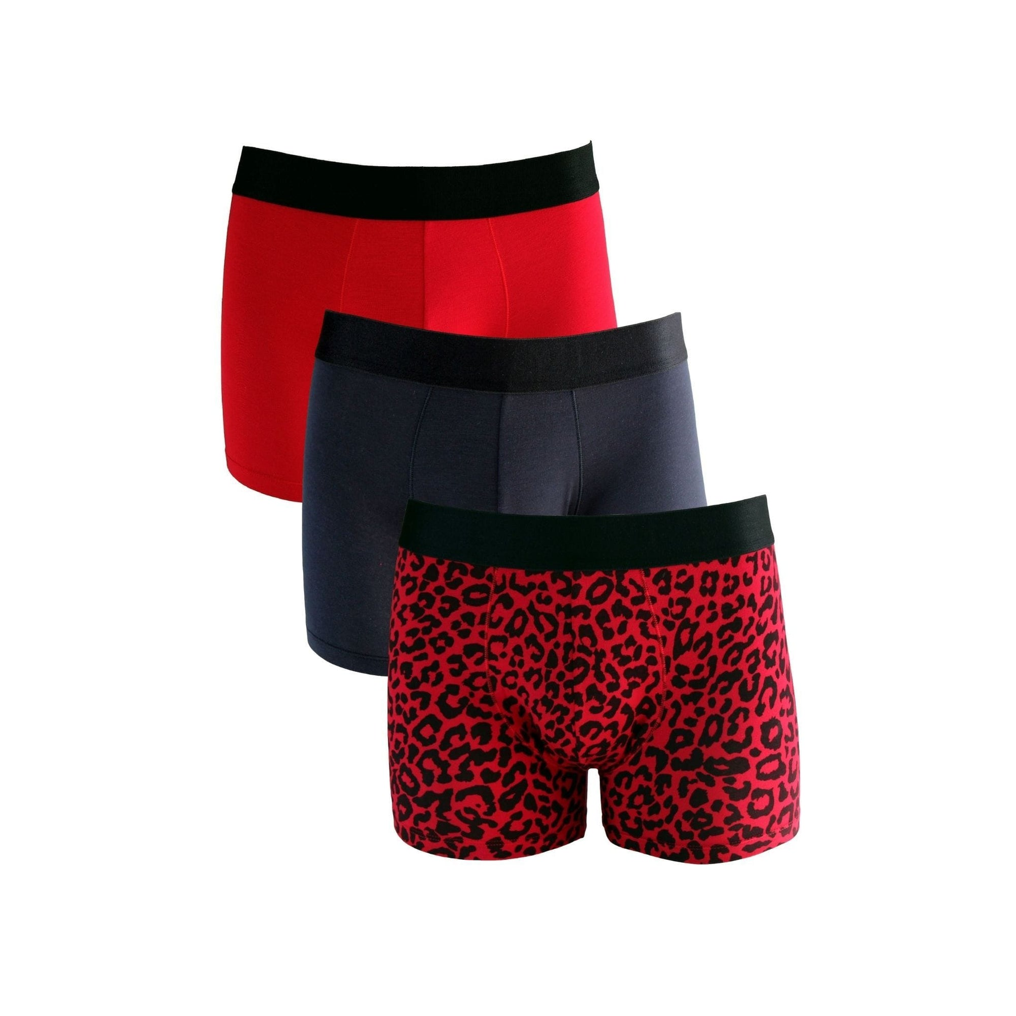 FANCIES Boxer Briefs Red Hot - Set of 3