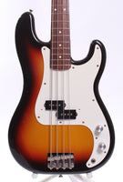 1993 Squier by Fender Japan Silver Series Precision Bass sunburst