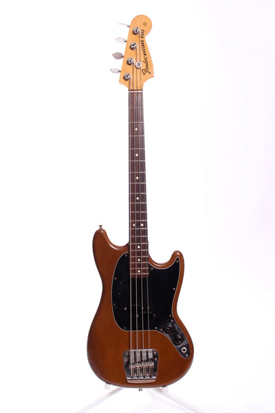 1974 Fender Mustang Bass mocca brown