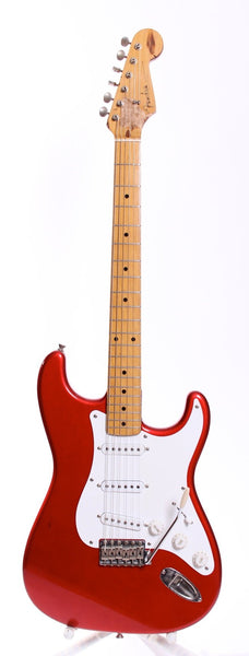 1998 Fender Japan Stratocaster '57 Reissue candy apple red