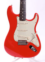 2000s Fender Mark Knopfler Signature Stratocaster hot hot red