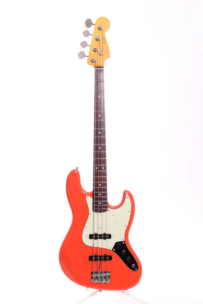 1999 Fender Japan Jazz Bass '62 Reissue fiesta red