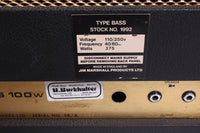 1973 Marshall Super Bass 100w