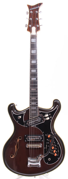 1967 Teisco EV-52T brown burst