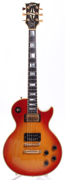 1990 Gibson Les Paul Custom heritage cherry sunburst