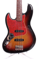 1996 Fender Japan Jazz Bass '62 Reissue sunburst LEFTY
