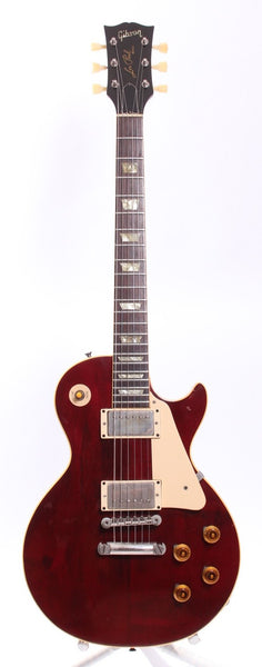 1974 Gibson Les Paul Standard Conversion cherry red