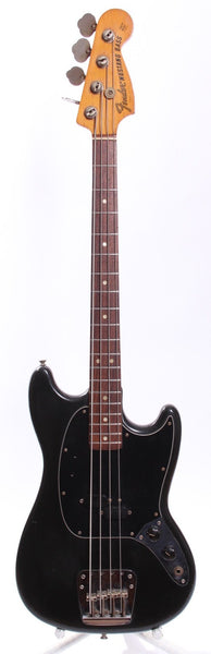 1975 Fender Mustang Bass black