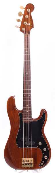 1981 Fender Walnut Precision Bass Special