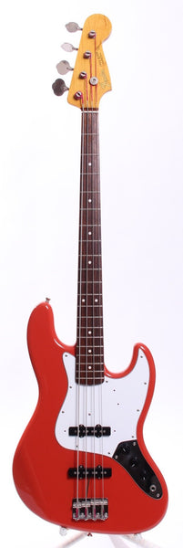 2005 Fender Jazz Bass '62 Reissue fiesta red