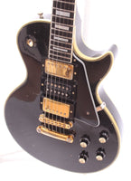 1976 Gibson Les Paul Custom three pickups ebony