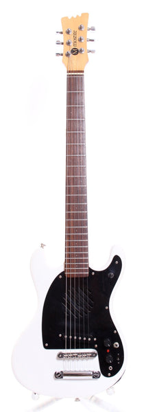 2000s Mosrite MKII Johnny Ramone Mini white
