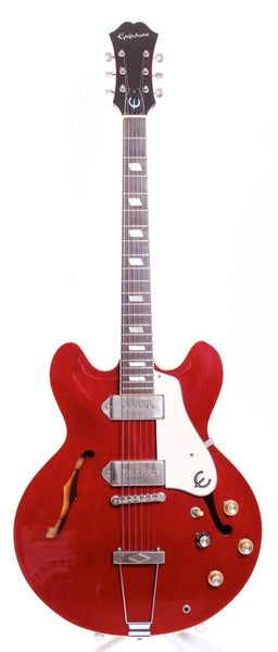 1990 Epiphone Japan Casino cherry red