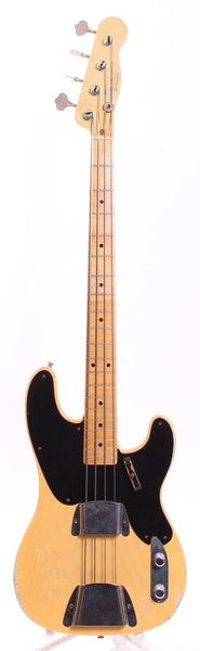 2012 Fender '51 Precision Bass Relic Dennis Galuszka butterscotch blonde