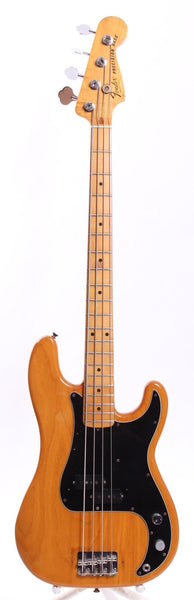 1978 Fender Precision Bass natural
