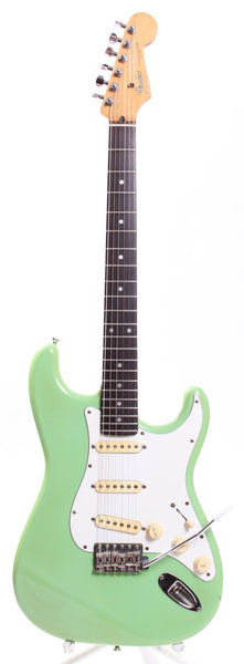 1989 Fender Stratocaster surf green