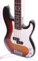 1987 Squier by Fender Japan Medium Scale Precision Bass sunburst