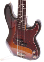 1982 Squier Precision Bass 62 Reissue sunburst