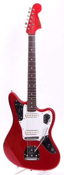 1999 Fender Jaguar 66 Reissue candy apple red
