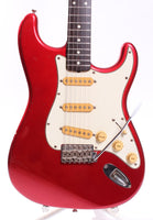 1984 Squier by Fender Stratocaster 62 Reissue candy apple red