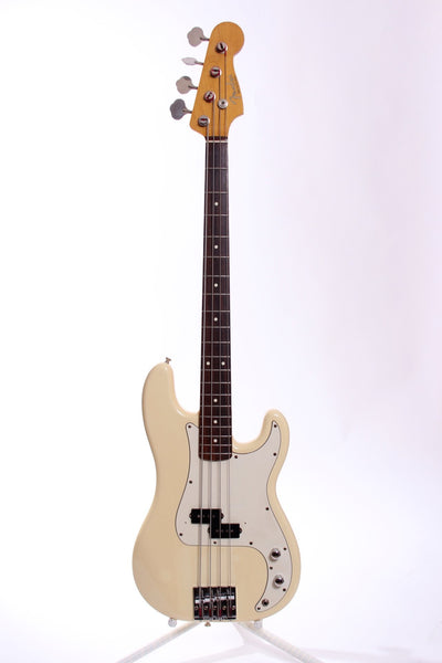 1993 Fender Japan Precision Bass '62 Reissue olympic white