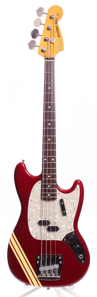 2004 Fender Mustang Bass competition red