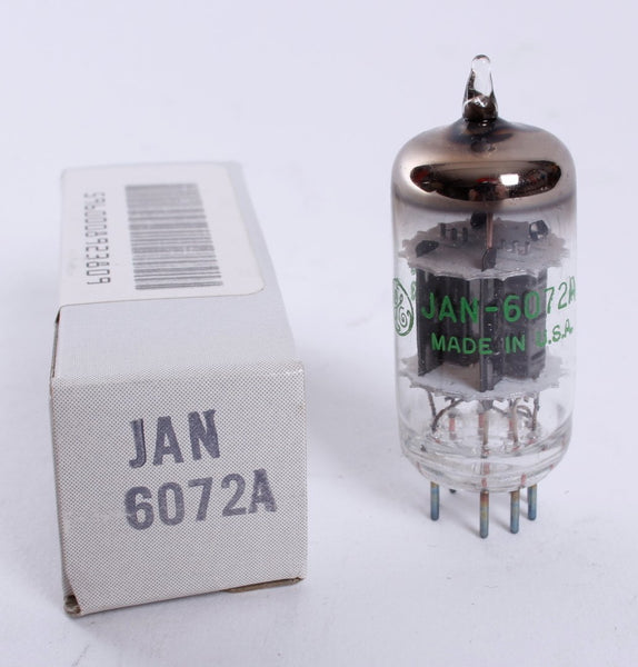 1985 JAN General Electric 6072A NOS Tube