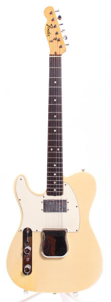 1972 Fender Telecaster Lefty olympic white