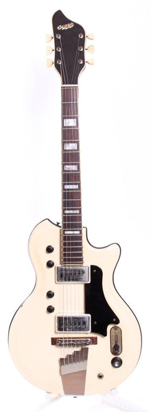 1965 Supro Dual Tone S424 Res-O-Glass white