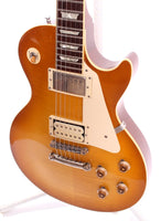 1980s Burny Les Paul Standard Flametop Reissue honey burst