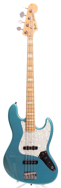 1999 Fender Jazz Bass 75 Reissue ocean turquoise metallic