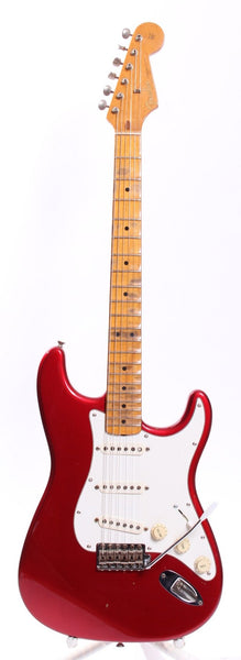 1991 Fender American Vintage 57 Reissue Stratocaster candy apple red