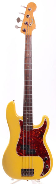 1966 Fender Precision Bass monaco yellow