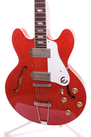 1993 Epiphone Japan Casino cherry red