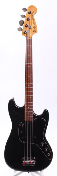 1977 Fender Musicmaster Bass black