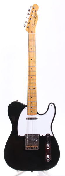 1982 Squier by Fender Telecaster 52 Reissue black